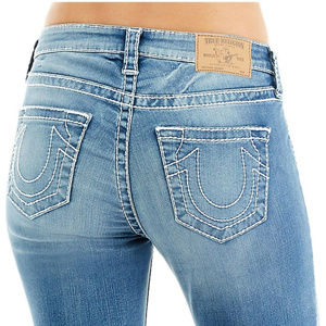 True Religion Women's Curvy Skinny Stretch Jeans